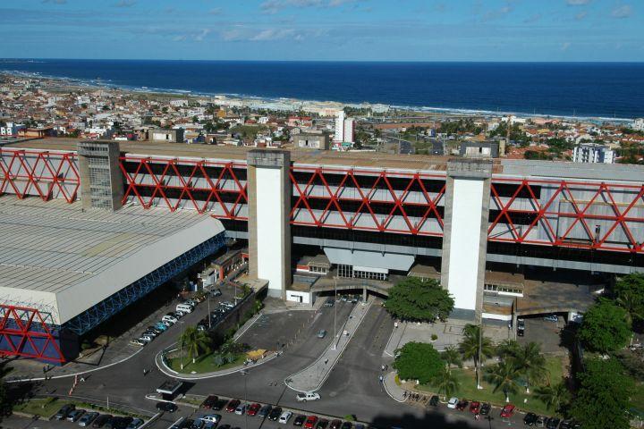 Resultado de imagem para centro de convenções da bahia e a hotelaria