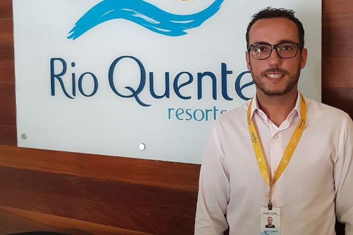 Grupo Rio Quente (GO) apresenta André Coutinho para coordenação de Marketing