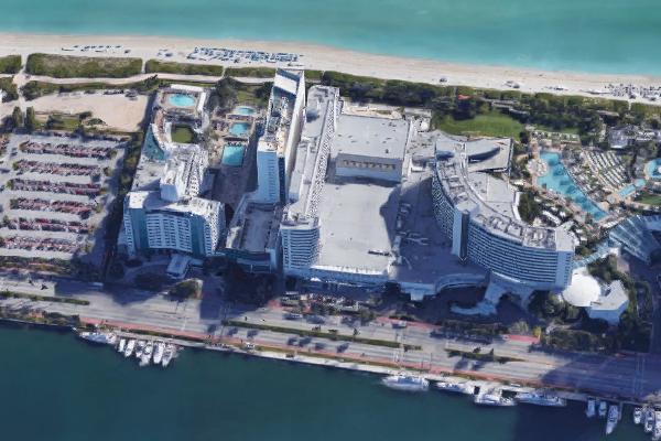 Robert De Niro abre em setembro o Nobu Hotel e Eden Roc em Miami Beach (EUA)