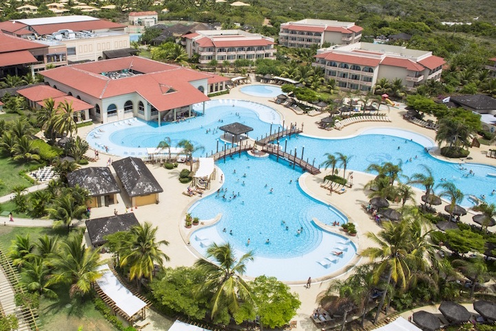 Grand Palladium Imbassaí Resort & Spa (BA) tem faturamento de R$ 34 milhões em 2016