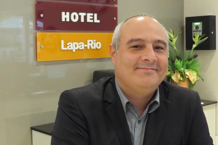 Conheça Lúcio Serabion, gerente geral do novo empreendimento da Bristol, o Easy Plus Hotel - Lapa Rio