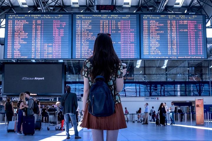 OMT - queda em viagens internacionais