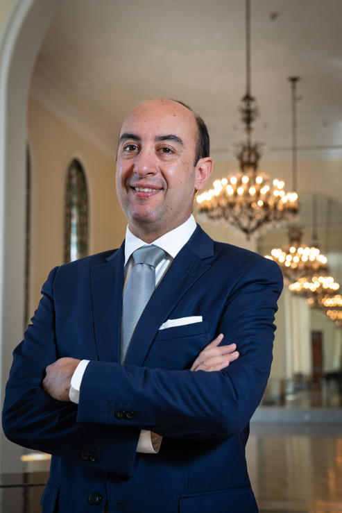 Ulisses Marreiros, gerente geral do Belmond Copacabana Palace