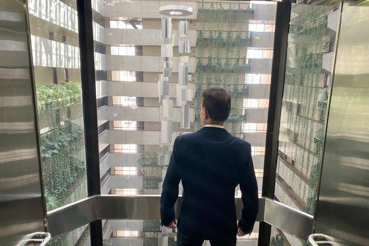 Maksoud Plaza - André Nalini_elevador