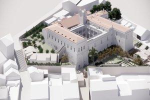 Convento do Carmo - projeto