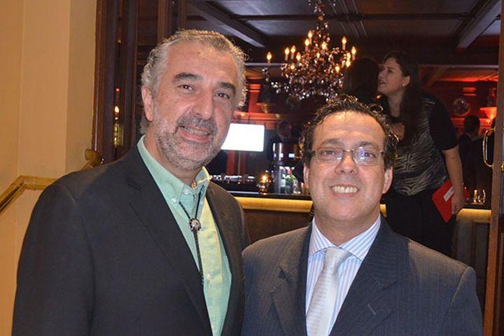 Peter e Márcio Moraes - Premio VIHP