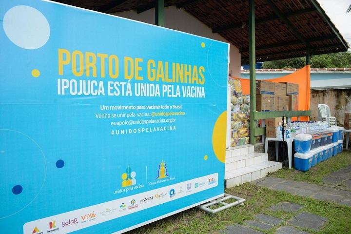 Porto de Galinhas - unidos pela vacina